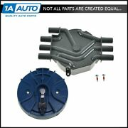 Distributor Cap And Rotor Kit Set For 95-05 Chevy Gmc Isuzu Olds V6 4.3