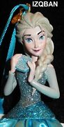 Disney Frozen Elsa The Ice Queen Ornament Figurine 2014 New With Tags Htf Pretty