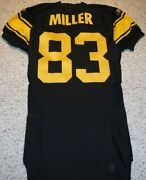 Pittsburgh Steelers Team Issued Jersey Heath Miller 2008 Throwback Jersey