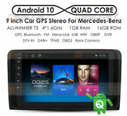 9 For Mercedes-benz X164 W164 Ml Gl 350 450 Android Radio Car Gps Player Wifi