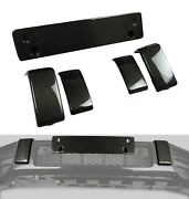 Kit-car G Wagon Carbon Bumper Brackets And License Plate Holder G63 Amg W463a