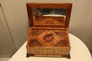 Big Jewelry Box Made Of Thuya Wood With Great Design,large Jewelry Box For Women