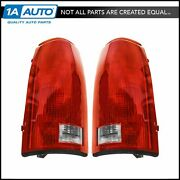 Taillights Brake Lights W/circuit Boards Lh And Rh Pair Set For Chevy Gmc Cadillac