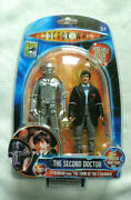 Doctor Who The Second Doctor And Cyberman Color Comic Con Exclusive Action Figure