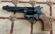 Edison Giocattoli Cap Gun Toy Western Style  Made In Italy Nice Condition