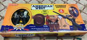 American West Die Cast Cowboy 8-piece Rifle Gun Holster Set And More Made In Usa