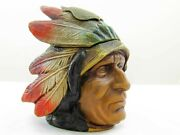 Indian Head Inkwell Commemorating Carlsbad Cavern Totem Poles Formation
