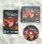 Battle Realms By Ubisoft - Pc, 2001 With Guide Book