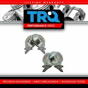Trq Front And Rear Performance Brake Rotor Drilled Slotted And Metallic Pad Kit