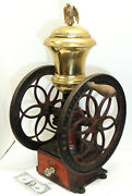 24 Peugeot Freres Cast Iron Coffee Mill Antique Country Grocery Store Grinder