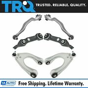 Trq Front Upper Lower Control Arm Kit Set Of 6 For Mercedes Benz Cls E Series
