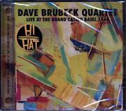 Sealed New Cd Dave Brubeck Quartet - Live At The Grand Casino Basel 1963