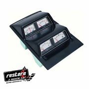 New 1968-1974 Nova And Camaro Silver Face Console Gauge Cluster Oer 3952635