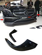 Carbon Fiber Front Bumper Covers For A217 C217 S-class Coupe 2015+ S63 S65 Amg