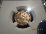 1837 Ngc Sm Date Seated Dime No Stars Mint State 64 +++++