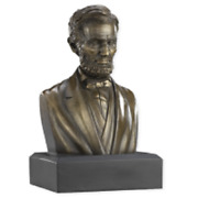 President Abraham Lincoln Bronze 6 Sculpture Bust Collectible Statue New