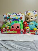 Cocomelon Toy Bundle 10 Jj Plush Bedtime Doll And Musical Doctor Checkup Set New