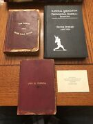 1900's John H Farrell Personally Owned Reach Spalding Silver Jubilee Books