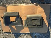 Jaguar Xj6 Series 3 Under Scuttle Or Dash Casings 2 Left And Right Lhd Us Car