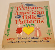 A Treasury Of American Folk Patterns Antique Decorative How To Paint Techniques