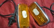 Mercedes W114 W115 W113 Complete Side Turn Signals Ulo Are Pair Landr New Nos