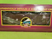 Authentically Detailed O Scale Freight Cars M.t.h Electric Trains 4-bay Hopper