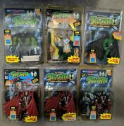 Mcfarlane Spawn Series 1 Lot Of 6 Action Figures 1994 Sealed +comic +variants