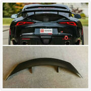 Real Carbon Fiber Gt Trunk Spoiler Wing For Toyota Supra A90 A91 Mk5 2019+ Aim