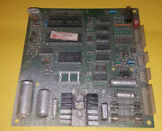 Williams System 6-7 Type 2 Pinball Sound Board Untested As Is For Parts / Repair