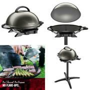 Outdoor Grill Bbq Indoor Electric Griddle Large Surface Barbecue Camping Cooking