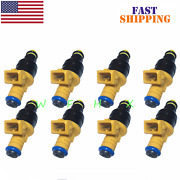 Set 8 Flow Matched Fuel Injectors For Ford 4.6 5.0 5.4 5.8 Replaces 0280150943
