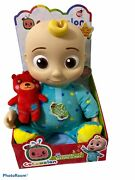 Cocomelon Jj Doll Plush Musical Bedtime 10 Soft Toy Ships Fast🚚💨