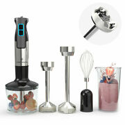 Chefwave 500 Watt 9 Speed Immersion Hand Blender With Various Attachments