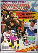 Rare Rollergames Roller Derby Magazine 1990 Yearbook Edition January 1990