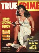 True Crime Cases-march 1949-george Gross Gga Spicy Cover