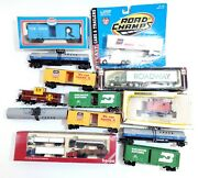 Lot Of 16 Herpa Bachmann Road Champs Truck Train As/is For Parts Only