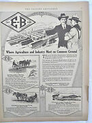1921 Emerson-brantingham Farm Machinery Ad, Agriculture And Industry Meet