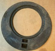 Vintage Wood Cook Stove Cast Iron Burner Cover Plate Insert Outer Only 8 3/8