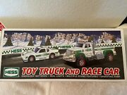 Brand New-2011 Toy Truck And Race Car Hess Truck