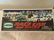 Brand New-2009 Race Car And Racer Hess Truck