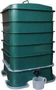 Vermihut Plus 5-tray Worm Compost Bin Easy Setup And Sustainable Design