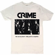Crime Hot Wire My Heart Menand039s T-shirt