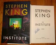 Stephen King Signed The Institute 1st/1st Hardcover Book Author New 2019 It