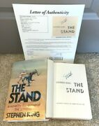 Stephen King Signed The Stand Hardcover Book Bce Shining It Mr Mercedes Rare Jsa