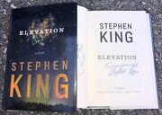 Stephen King Signed Elevation 1st/1st Hardcover Book Author New 2018 It