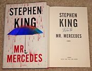 Stephen King Signed Mr Mercedes Hardcover 1st/1st Book Author Shining It Carrie