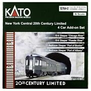 Kato N Scale New York Central 20th Century Limited Express 4-car Set 10764-2