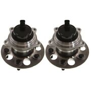 Pair Set Of 2 Wheel Hubs Rear Left-and-right 4350242020 Lh And Rh For Toyota Rav4