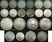 Mauritius 1 Cent To 20 Rupees 1944 To 2017 Discounts To 50 For 4+ Coins