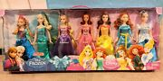 New Disney Princess Ultimate Royal Doll Collection 7 Pack Target Excl 2013